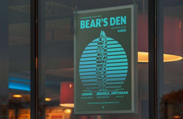 Bear's Den - Tour poster