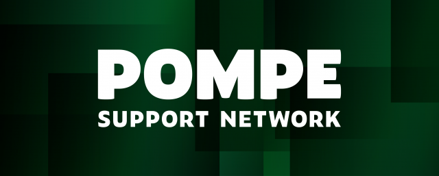 Pompe Support Network - Visual Identity, Logo, Website